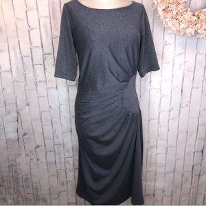 Shabby Apple Midi Fitted Pencil Dress Sz 14/16